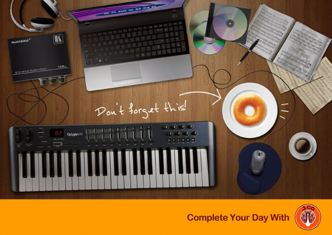 Complete Your Day With... by AYA DiandaraSalvator (AYAdndr),periklanan,desain grafis
