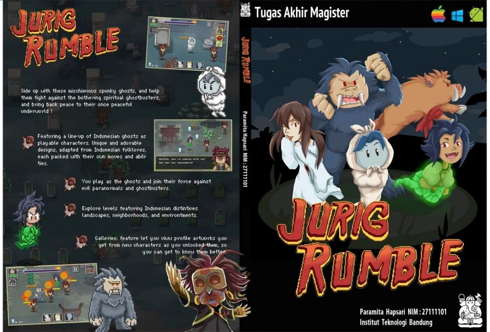 JURIG RUMBLE  (game concept) by Paramita Hapsari (ProgCandybox),desain karakter,desain game
