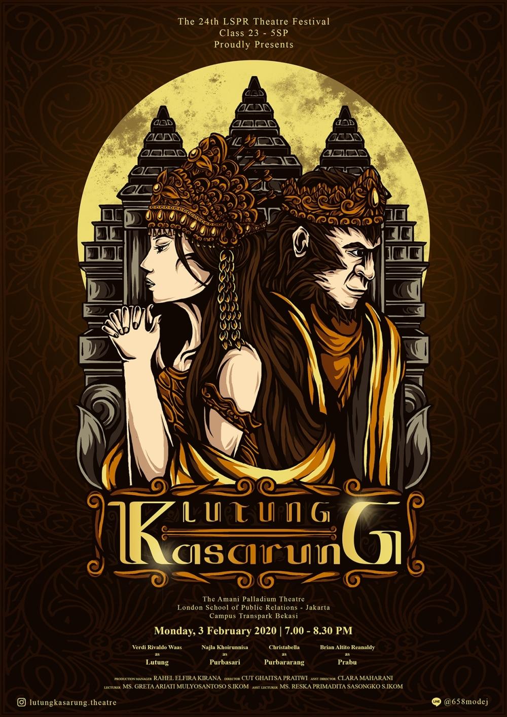 Lutung Kasarung by Gheraldo Alfaro (Tetrisdraw),branding,desain karakter,seni digital,ilustrasi