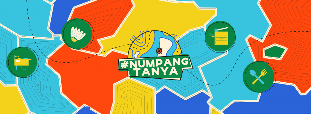 #NUMPANGTANYA - ACTIVATION EVENT by Portside Labs (Portside),branding,desain grafis
