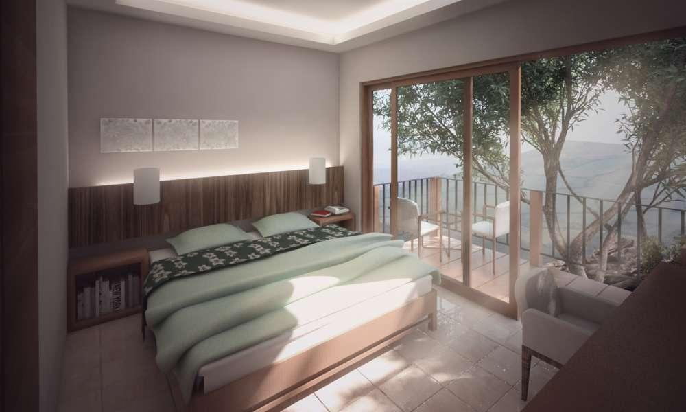 Bed & Breakfast Proposal (2013) by Izzan B. Parsatria (izzanparsatria),3d modelling,arsitektur,seni digital